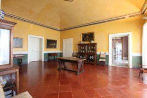 Villa Floridiana, la sala da pranzo