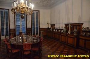 Villa Pignatelli, la sala da pranzo