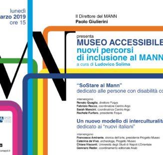 MUSEO ACCESSIBILE nuovi percorsi di inclusione al MANN